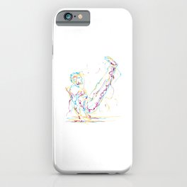 Gymnast Abstract Cool Gymnast Athletic Sports Gift iPhone Case