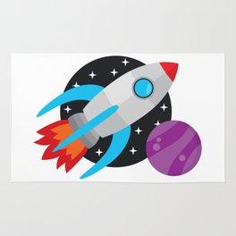 The Last Rocket Launching Rug