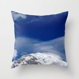 Take a deep breath II Throw Pillow