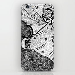 Aim for the Moon iPhone Skin