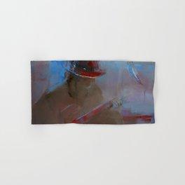 """Guitar Player"" by Diana Grigoryeva Hand & Bath Towel"