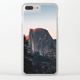 Last Light at Yosemite National Park Clear iPhone Case