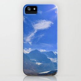 columbia icefield, 2017 iPhone Case