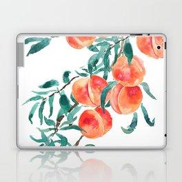 peach watercolor Laptop & iPad Skin