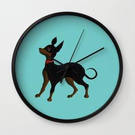 Chihuahua Chelsea Wall Clock