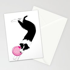 Disc Dog - Border Collie Stationery Cards