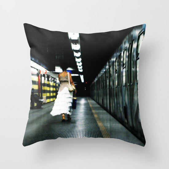 For the Love of Rome Throw Pillow