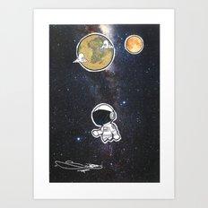 We The Explorers Art Print