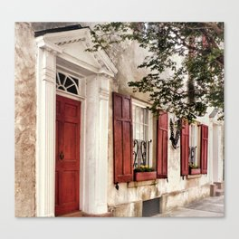 Charleston French Quarter Canvas Print