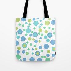 Circular Pastel Vector Tote Bag