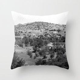 Santa Cruz County, Arizona 1909 Throw Pillow