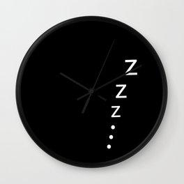 Snooze Wall Clock