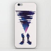 the thing iPhone & iPod Skins featuring The Thing by Robert Farkas