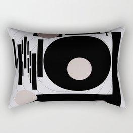 Optical Mink Rectangular Pillow