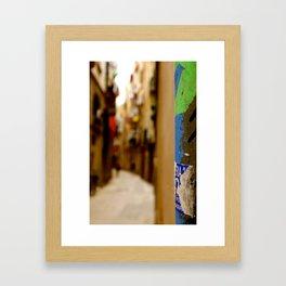 Boqueria Mercat Framed Art Print