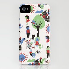 Beautiful day pattern iPhone (4, 4s) Slim Case