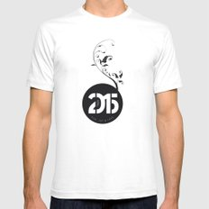 Happy New Year 2015 White SMALL Mens Fitted Tee