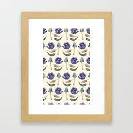 Sweet Botanicals 3 Framed Art Print