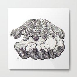Sleeping baby Metal Print