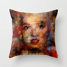 Once upon a time Marilyn Throw Pillow