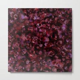 Holiday Berry Joy Abstract Metal Print