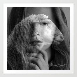 The Lamb In Me Art Print