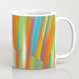 Cooling Metal Copper and Blues Design Coffee Mug