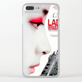 Lady Vengeance Clear iPhone Case