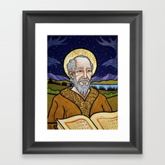 The Old Saint Framed Art Print