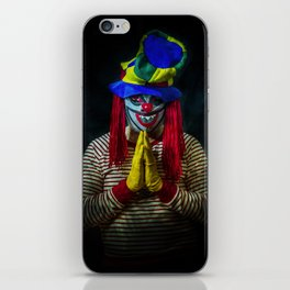 A Prayer for the Clowns iPhone Skin