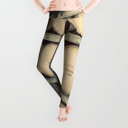 Kentucky Bourbon Barrels Color Photo Leggings