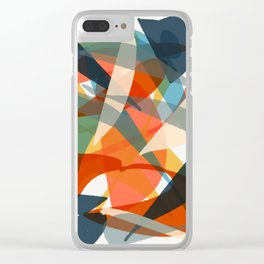 Abstract Fish Clear iPhone Case