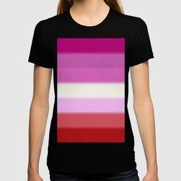 Lesbian Pride Flag v2 T-shirt