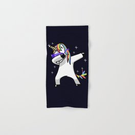 Dabbing Unicorn Shirt Dab Hip Hop Funny Magic Hand & Bath Towel