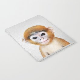 Baby Monkey - Colorful Notebook