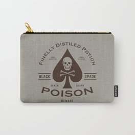 Black Spade Poison Carry-All Pouch