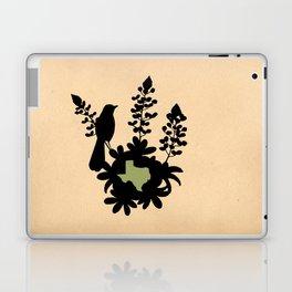 Texas - State Papercut Print Laptop & iPad Skin