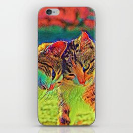 AnimalColor_Cat_ 006_by_JAMColors iPhone Skin