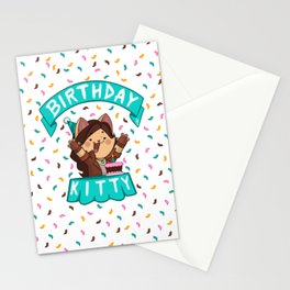 Birthday Kitty (2018) Stationery Cards