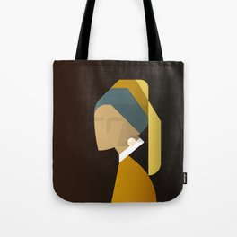 Painted Girls #3 Tote Bag