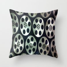 Movie Reel Ceiling  Throw Pillow