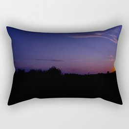 Amazing sunset Rectangular Pillow