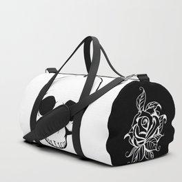 Rock n Roll Skull Tattoo Design Duffle Bag