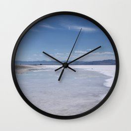 Salt Flats 1 Wall Clock