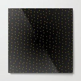 Gold Ants Metal Print
