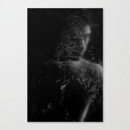 Veiled man Canvas Print