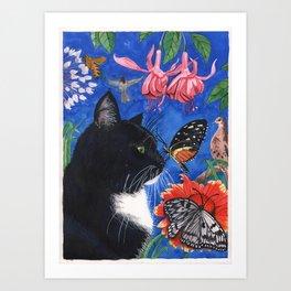 Meowse's Dream Art Print