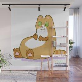 Full-sized Fatcat Wall Mural