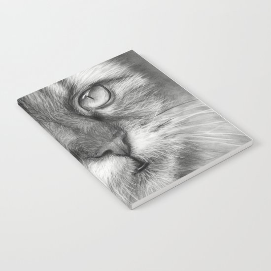 Cat Drawing Notebook
