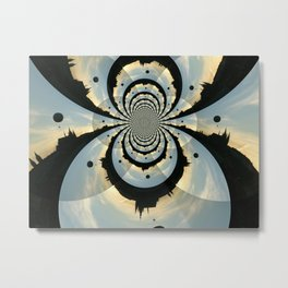 Traveling in Circle  Metal Print